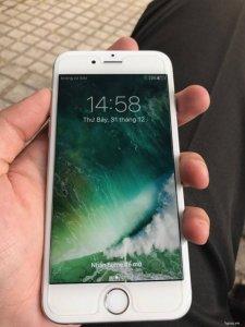 IPhone 6S SILVER 64gb đẹp long lanh, máy zin all 100%, phụ kiện zin