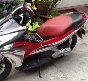 Bán xe Honda Airblade(Fi) màu Trắng Đỏ Đen,bstp 9 nút,xe đẹp zin 100%