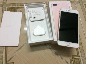 Iphone 7 plus màu Rose 128G mới 99,9%
