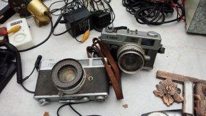 Máy ảnh canon cổ