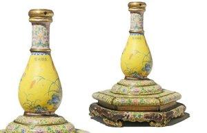 Lọ hoa quý thời Càn Long giá 78.000USD