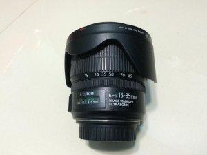 Len canon 15-85 f3.5-5.6 mới leng keng giá đi nhanh