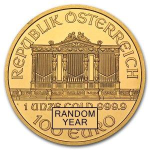 Đồng xu Gold Austrian Philharmonic .9999