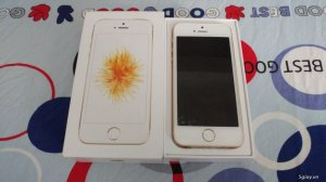 iPhone SE 64Gb gold mới nguyên chưa sài
