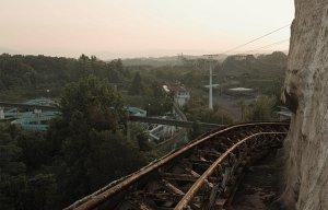 Công viên bị bỏ hoang ma mị ở Nhật trước ngày bị phá hủy