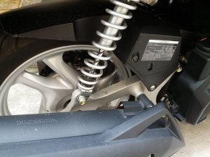 Bán/ Đổi Honda AirBlade 125 màu đen đăng ký 2015 odo 7000km xe ít đi
