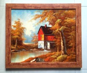 Tranh sơn dầu châu Âu sưu tập, họa sỹ Luini, tranh gốc nguyên bản tuyệt đẹp ! Giá mềm !
