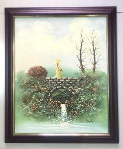 Tranh sơn dầu sưu tập, họa sỹ Keyelee, tranh gốc nguyên bản đẹp hoàn hảo !