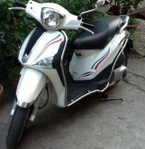 Cần bán xe Piaggio Liberty 125 3v ie màu trắng,bstp đẹp,xe zin 100%.