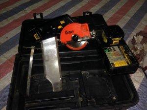 Máy cắt Nhôm sài pin NATIONAL nguyên hộp Zin