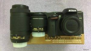Nikon D5300 + Lens Nikkor 18-55mm + Lens Nikkor 70-300mm new 100%