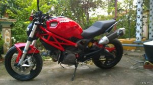 Ducati monster 795 2012 Full đồ chơi chính hãng vì dự án rau sạch
