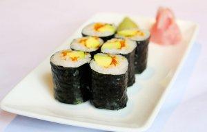 5 món sushi từ quả bơ