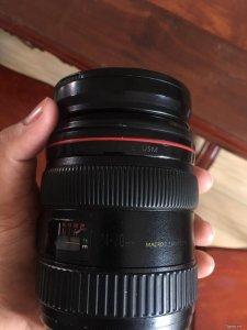 Ban Lens Canon 24-70mm F2.8L mark i