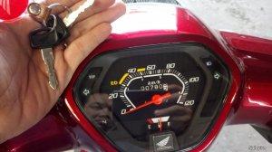 Super Dream 2016 màu đỏ odo 800km cần bán.