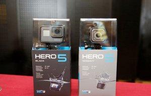 Ảnh GoPro Hero 5 vừa lên kệ tại VN, giá từ 7 triệu