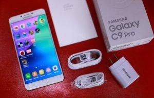 Ảnh Samsung Galaxy C9 Pro RAM 6 GB giá 11,3 triệu vừa về VN