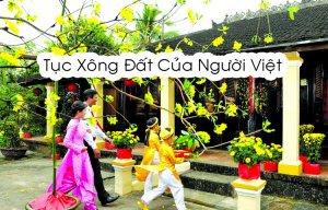 Tục xông đất của người Việt