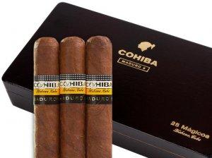 Hàng mới về Cohiba Maduro 5 Genios (Box 10&25)