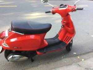 Vespa S 125,3V,ie màu đỏ đèn vuông phun xăng