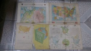 bản đồ USA 1961