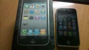 Iphone 3Gs 16g mau den con 80%