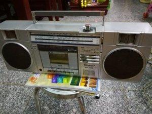 Máy nghe đài SHARP 7500 thời xưa 220v
