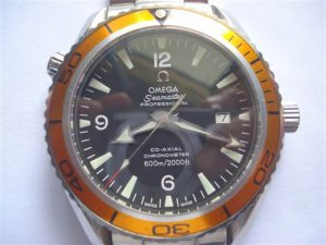 Đồng hồ Omega Seamaster Planet Ocean Co Axial  Automatic ETA 2846 Swiss.