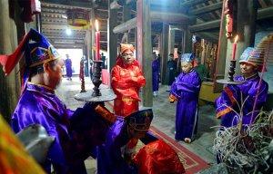 """Lễ hội """"Đúc Bụt"""" tại miếu Bà - thờ công chúa Ngọc Kinh"""