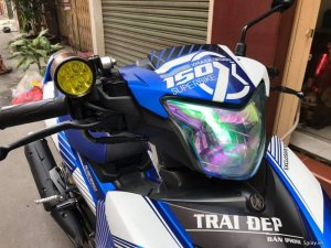 Exciter 150cc Zin Keng - Cực Chất - Màu Xanh GP nhôm xước