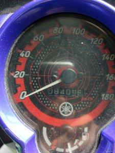 Exciter 2012_odo 8400km