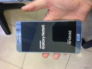 Galaxy Note 5 2 sim màu silver N9200