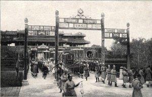 Hình ảnh còn sót lại trong các lễ tế trời đất của các vua triều Nguyễn vào mùa Xuân