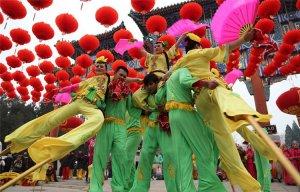 Những lễ hội đầu năm rực rỡ sắc màu trên khắp các vùng miền ở Trung Quốc