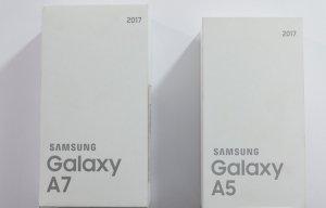 Mở hộp Galaxy A5 2017 & A7 2017: Thiết kế và chống nước như Galaxy S7