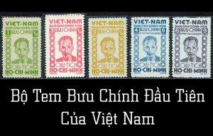 Sự Ra Đời Của Tem Bưu Chính Việt Nam