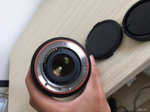 Lens sony TD F2.8 / 16-50MM SSM hàng xách tay japan