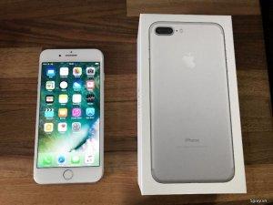 Bán iPhone 7 plus 32Gb-Silver- fullbox- hàng chính hãng TGDD- BH 2018