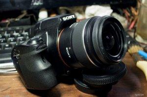 Bán Sony A37 + Len kit Sam 18-55