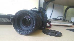 Canon EOS 500D + Lens Sigma 18-200mm