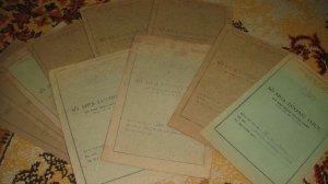 Giao lưu lô giấy tờ xưa