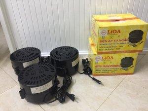 Thanh lý Biến áp đổi nguồn LiOA 2 điện áp 100 volt / 120 volt_1500 VA (1.5 KW)