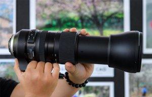 Trên tay ống kính Tamron SP 150-600mm f/5-6.3 Di VC G2: Thiết kế mới, chống rung tốt