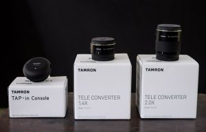 Trên tay bộ phụ kiện cho ống kính Tamron 150-600mm G2: Teleconverter 1.4x/ 2x