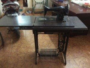 Bộ bàn chân máy Singer cổ - 1800k