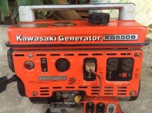 Phát điện kawasaki 550 Nhật cực êm giá 2,5 tr
