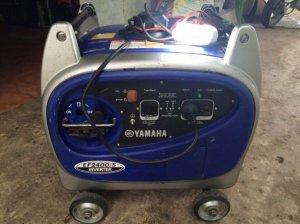 Phát điện chống ồn tiết kiệm xăng inverter chậm tua Yamaha2000&2400