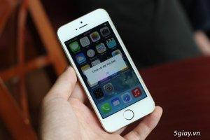 Bán iphone 5s quốc tế máy đẹp, ít trầy