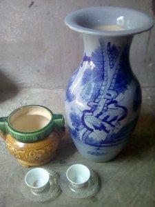 Bán 4 món đồ cổ trên 50 năm Bình. Lưu Hương  Tách. Tranh .giá rẻ