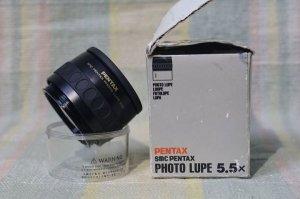 SMC Pentax photo lupe 5.5x